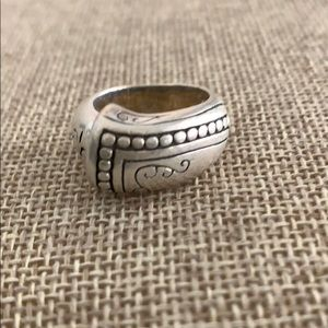 Brighton sterling silver band ring size 6